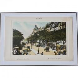 Paris Souvenir Print - Boulevard des Italiens