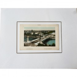 Paris Souvenir Print - Pont Alexandre III