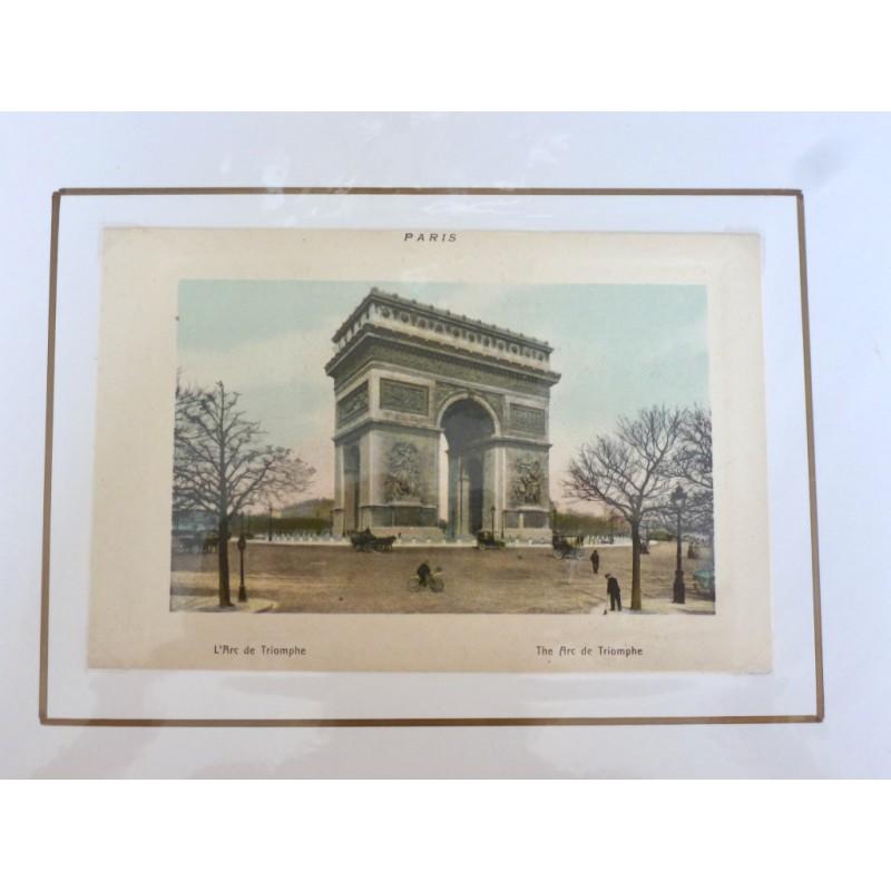 Paris Souvenir Print - Arc de Triomphe