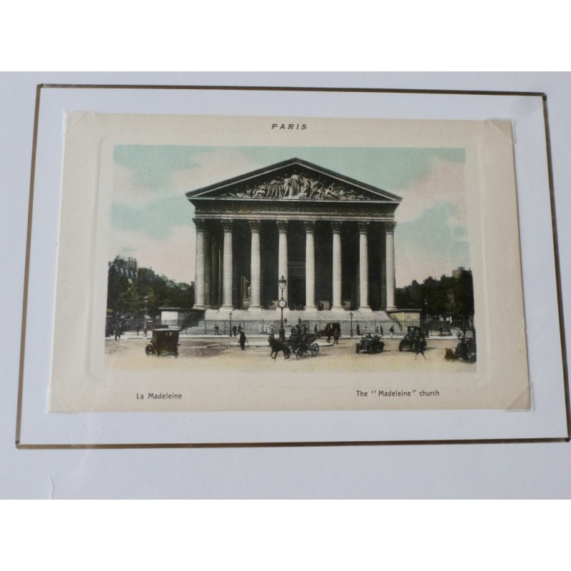 Paris Souvenir Print - La Madeleine