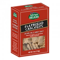 Organic Flatbread Crackers - Fabrique Delices