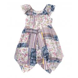 Emma Flutter Sleeve Dress - Girl | Avenue Petit Lou