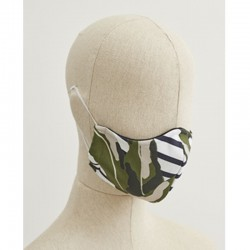 Stylish Saint James Face Mask - Camouflage