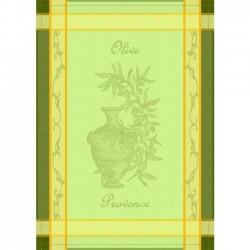 French Dish Towel - Olive...