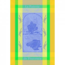 French Dish Towel - Poterie...