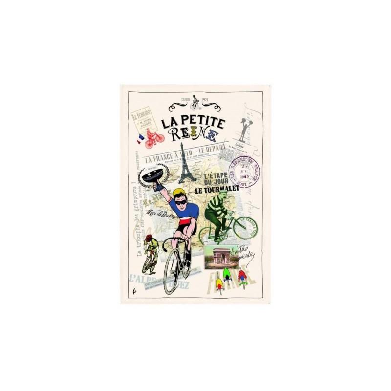 French Image Dish Towel - La Petite Reine