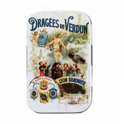 Dragees in Retro Mini Tin -...