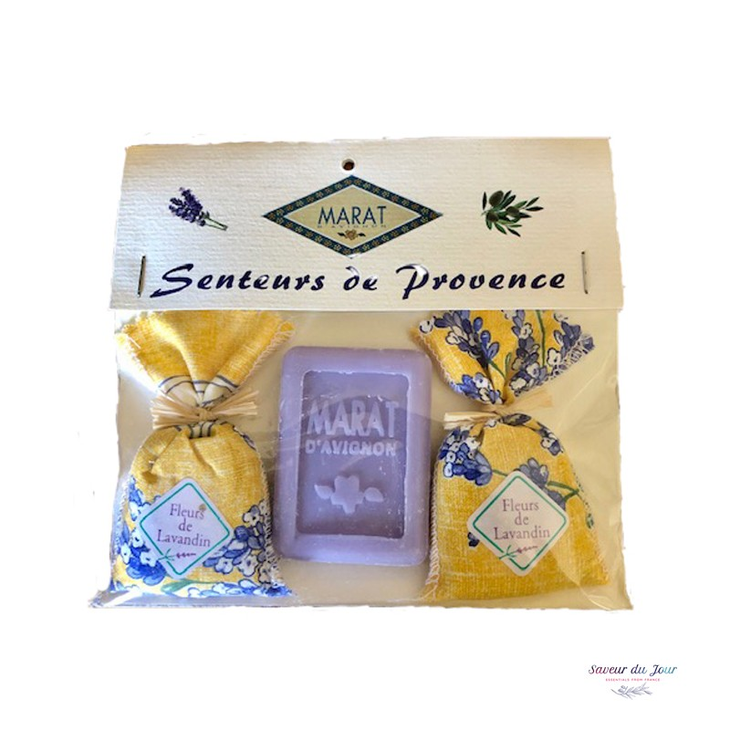 Lavender Sachets & Soap Gift Set