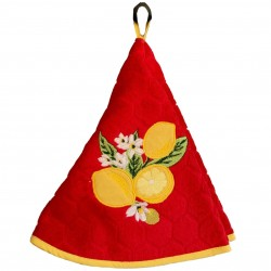 Round Terry Hand Towel -...