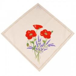 Provence Napkin - Poppy White