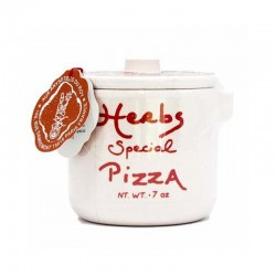 Pizza Herbs in a Crock Jar...