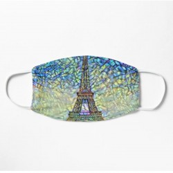 Mask - Eiffel Tower Stained...