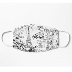 Mask - Paris Black & White