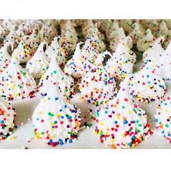 Confetti Crunch Meringues - Délice Glacé