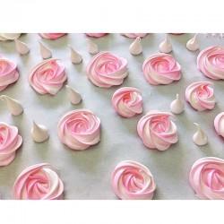 Rose Meringues - Délice Glacé