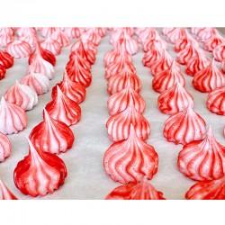 Raspberry Meringues - Délice Glacé