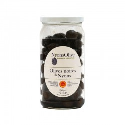 Nyons Black  Olives - Glass...