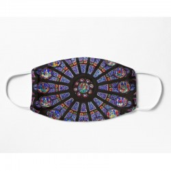 Mask - Paris Rose Window...