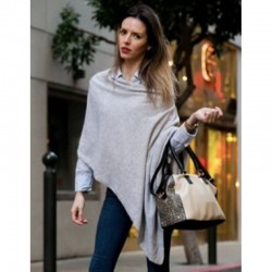Poncho Cashmere Mirabelle -...