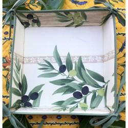 Provence Breadbasket - Olives Off White