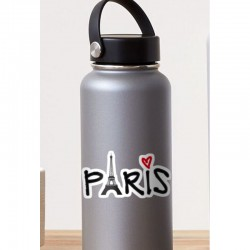 Paris Love Sticker