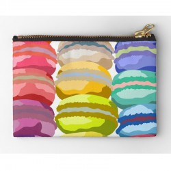 Zipper Pouch Medium - Macarons