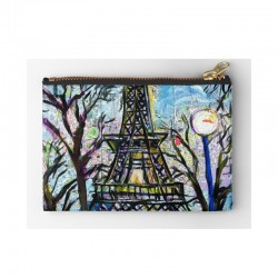 Zipper Pouch Eiffel Tower...