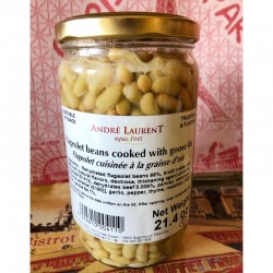 Flageolets Beans Cooked in Goose Fat - Andre Laurent