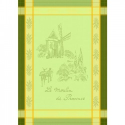 French Dish Towel - Moulin...