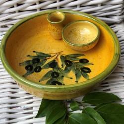 Provence Ceramic Olive Dish...