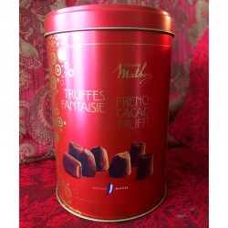 Plain Truffles in Red Tin -...