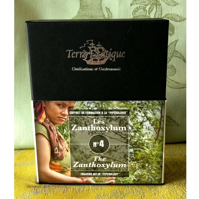 Exotic Spices Gift Box The 4 Colors of Pepper- Terre Exotique