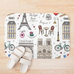 Bath Mat - Paris Monuments...