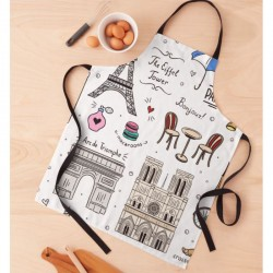 Apron Paris Monuments - White