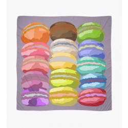 Scarf French Macarons