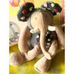 Plush Elephant Toy - Moulin...