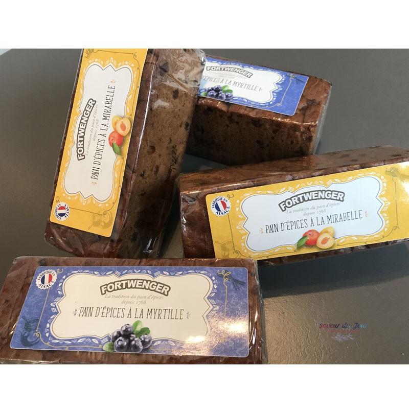 Alsatian Fruit Gingerbread - Fortwenger