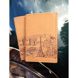Paris Leather Card Holder