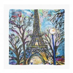 Scarf Paris Eiffel Tower...