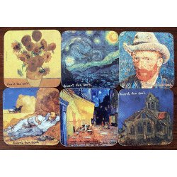 French Coasters - Van Gogh