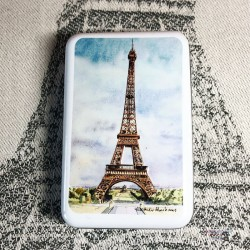 Paris Gift Tin Box -...
