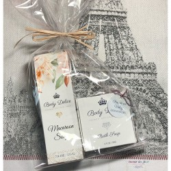Macaron & Bath Soaps Gift Set