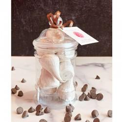 Chocolate Meringues Victorian Jar - Délice Glacé