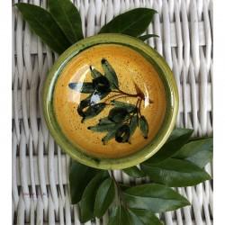 Provence Mini Dish - Olives Dark Yellow & Green