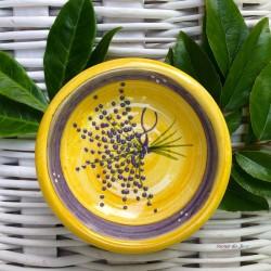 Provence Ceramic Mini Bowl - Lavender Bunch Yellow