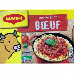 Bouillon KUB Beef 18-Count - Maggi