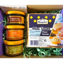 Provence Gourmet Spreads Gift Box - Small