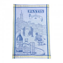 French Dish Towel - Pastis