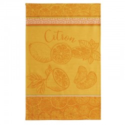French Dish Towel - Les Citrons - Coucke