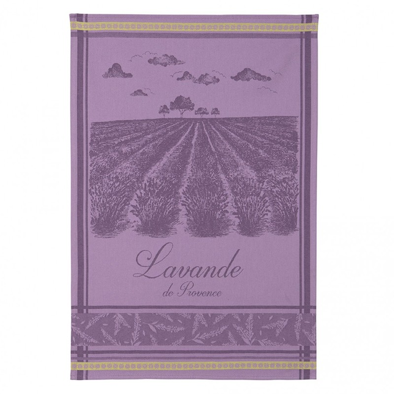 French Dish Towel - La Lavande de Provence - Coucke